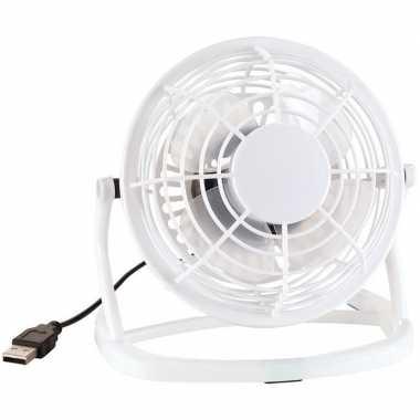 Mini ventilator wit usb 14 cm
