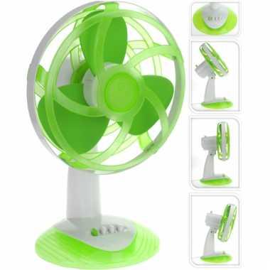Tafelventilator groen 30 cm