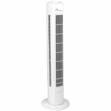 Toren ventilator wit 3 standen 78 cm