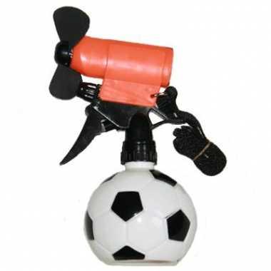 Voetbal water spray met vinnetje